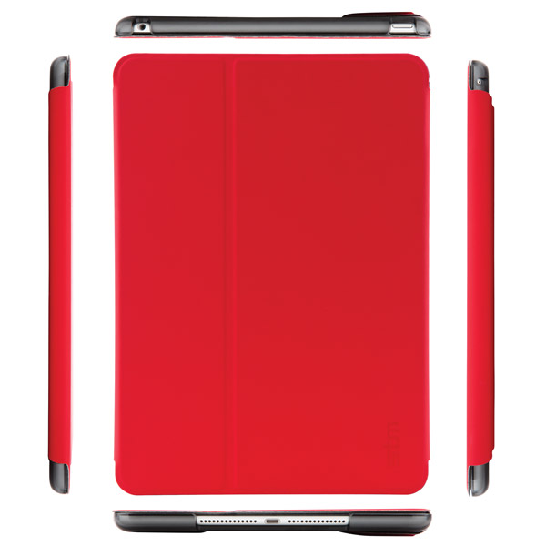 Studio for iPad Air 2: Front and Sides (Chili/Smoke)