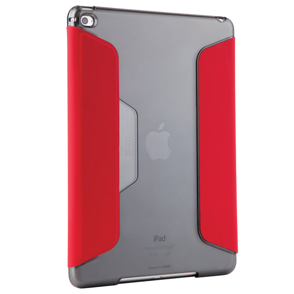 Studio for iPad Air 2: Back Angle (Chili/Smoke)