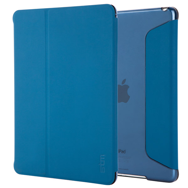 Studio for iPad Air 2: Front and Back (Moroccan Blue)