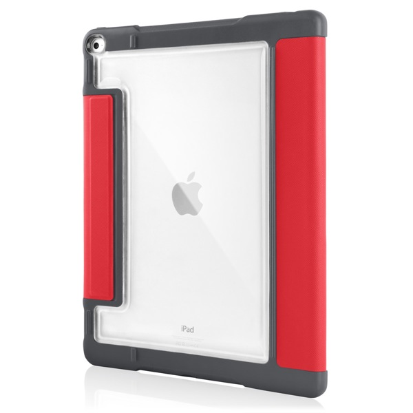 iPad Pro 12.9in: Back clear panel (Red)