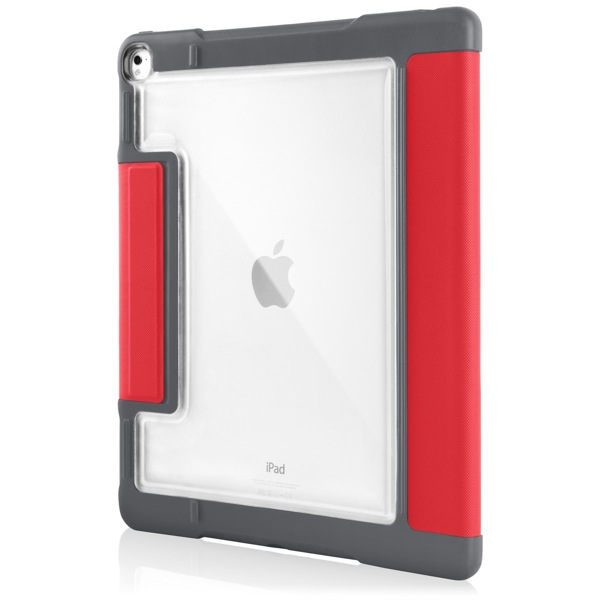 iPad Pro 9.7in: Back clear panel (Red)