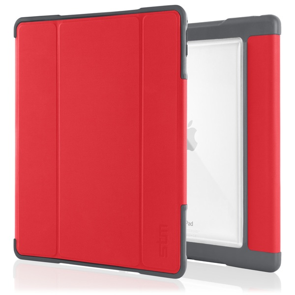 iPad Pro 9.7in: Front and back (Red)