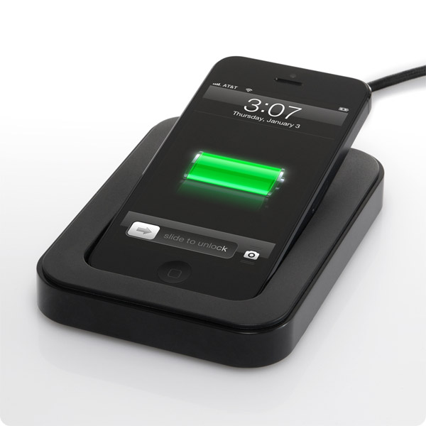 Lightning: Charge on your desk while still using (Black)