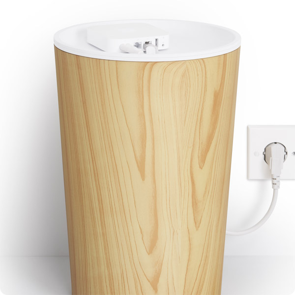 CableBin: Wireless router on top (Light Wood)