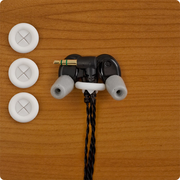 StopKnot: Attached to Westone Earbuds