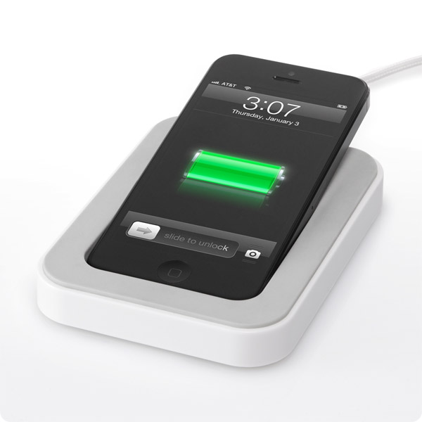 Lightning: Charge right on your desk (White)