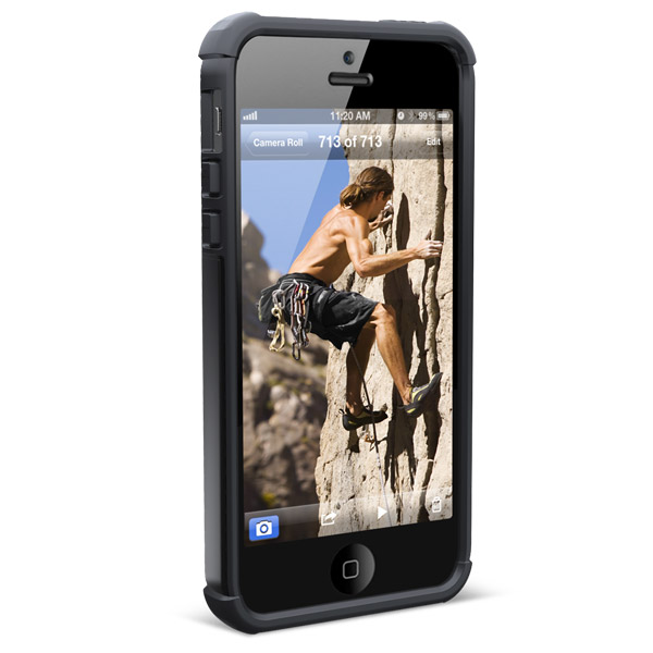 UAG for iPhone SE/5/5S: Front with phone (Scout)