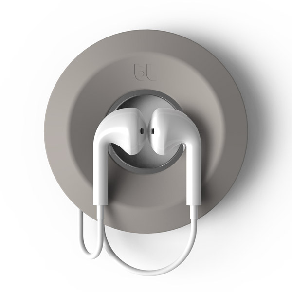 Cableyoyo: Securing Apple Earpods (Light Gray)