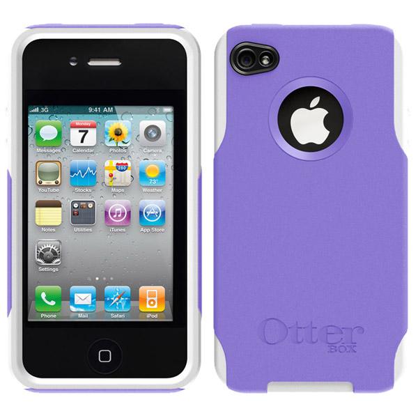 IPhone 4 Purple White