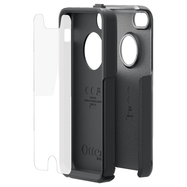 Commuter for iPhone 5C: Three protective layers (Black)