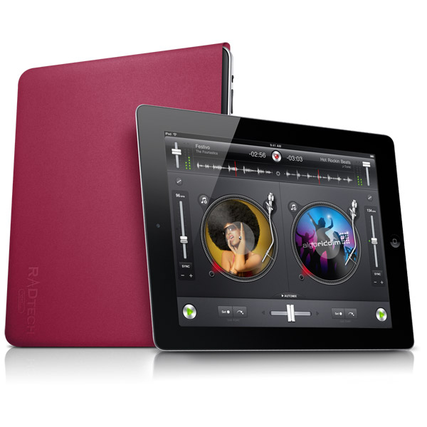 Sleevz for iPad: Fuchsia