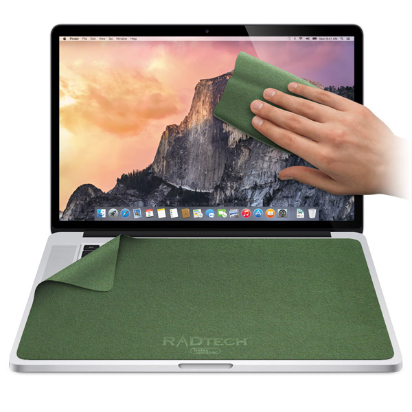ScreenSavrz for MacBook Pro: Green