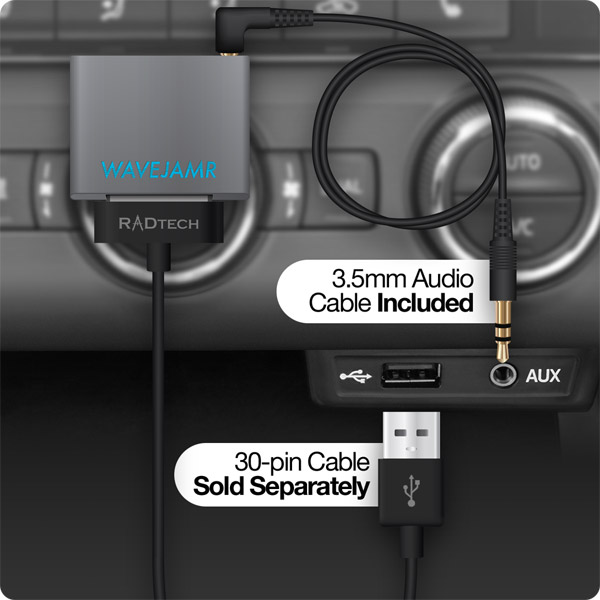 WaveJamr v5: Using with 3.5mm Line-Out in a Car