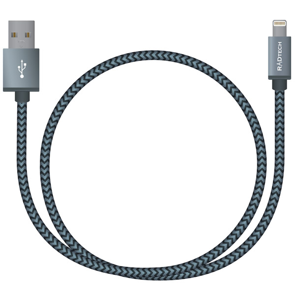 ProCable UHD light grey braided cable