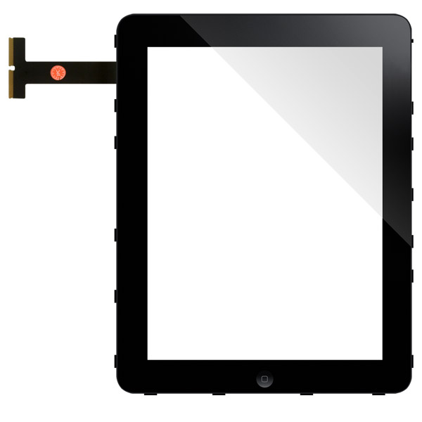 iPad 1: Front glass + digitizer