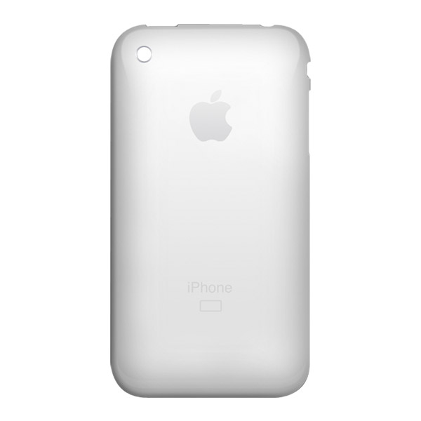 iPhone 3G: Rear Panel - White 16GB