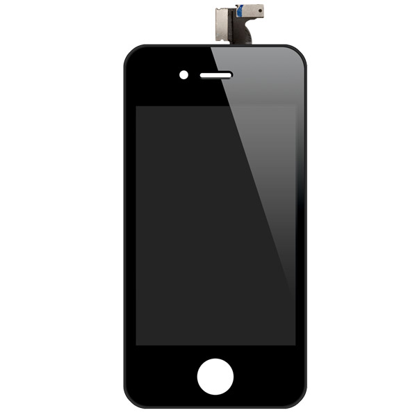 iPhone 4: Glass + LCD + Digitizer (Black, GSM)