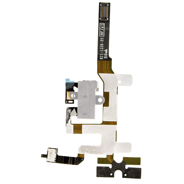 iPhone 4S: Jack, Volume / Silent Switch Cable (White)