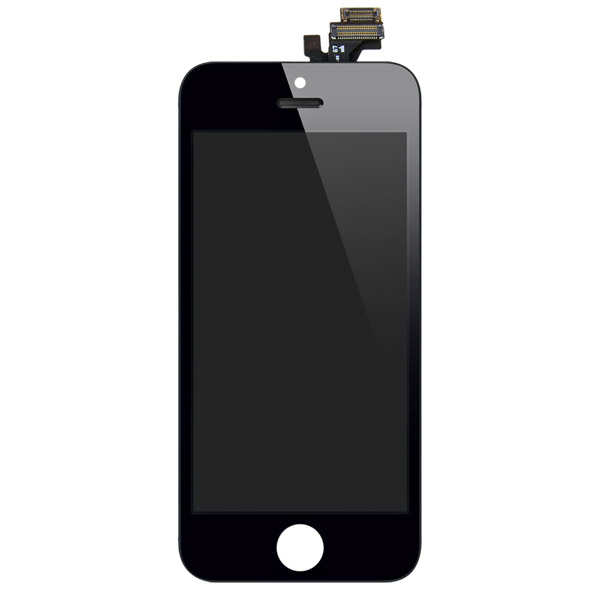 iPhone 5: Glass + LCD + Digitizer (Black)
