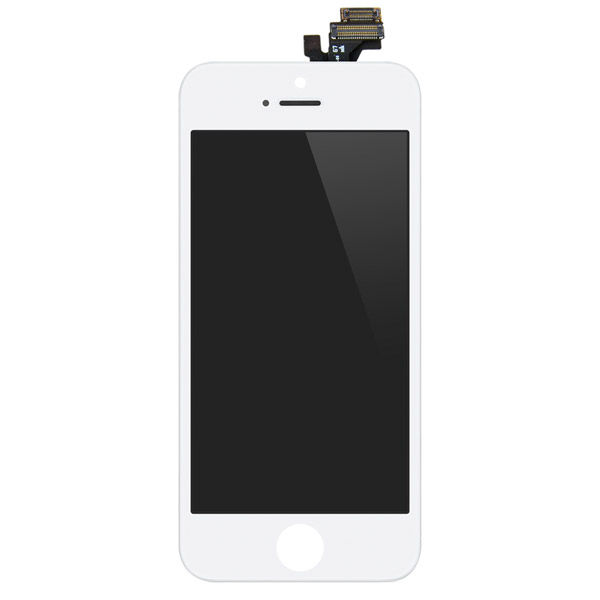 iPhone 5: Glass + LCD + Digitizer (White)