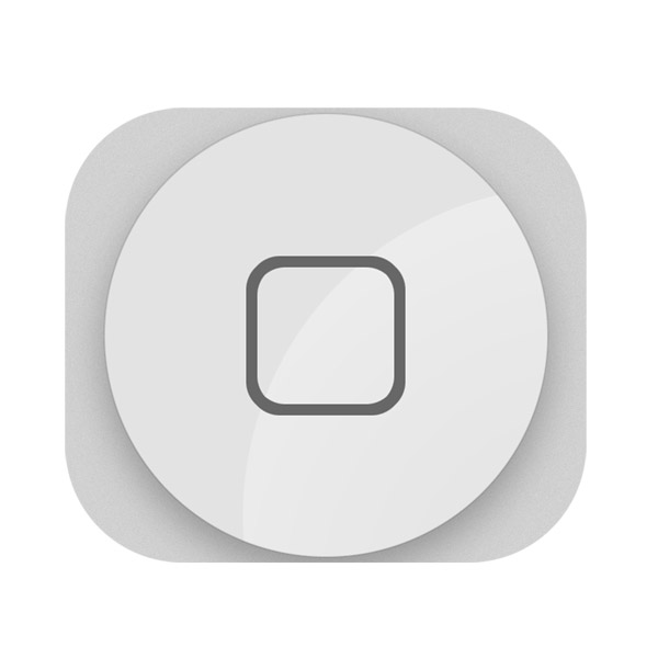 iPhone 5: Home Button (White)