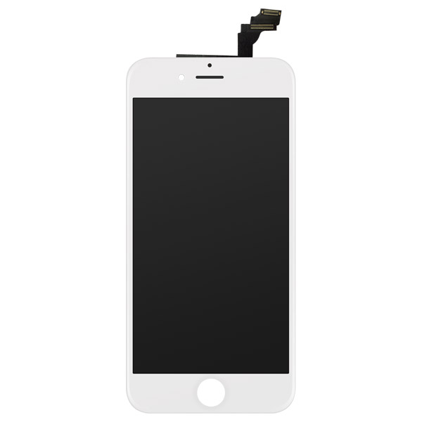 iPhone 6 Plus: Glass + LCD + Digitizer (White)