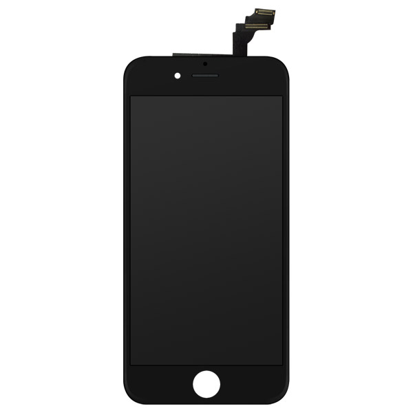 iPhone 6 Plus: Glass + LCD + Digitizer (Black)