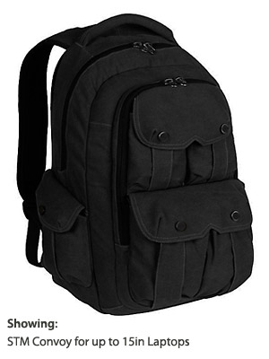 STM Convoy Padded Backpack for Laptops and Notebooks